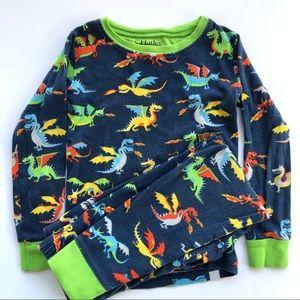 Hatley blue dragon pajamas size 4T